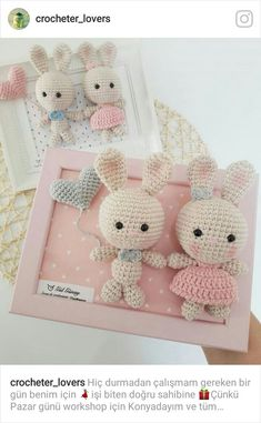 Pooh Crochet Pattern (Winnie the Pooh) Easter Crochet, Cute Crochet, Crochet Patterns Amigurumi, Crochet Dolls, Crochet Rabbit, Crochet Decoration, Crochet Gifts, Crochet Projects, Diy And Crafts