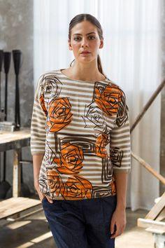 ss2016 orange knitwear sweatshirt Momoé collection