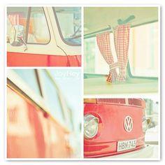 Vintage Voyage by JoyHey, via Flickr. #vintage #volkswagen