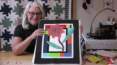 This will speed up the process of machine applique. A few tips and tricks along the way will make the job faster with a beautifully finished project. Fusible...