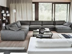 800 FASHION Sectional sofa by Vibieffe design Gianluigi Landoni