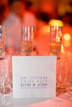Wedding, Event, Catering, Ideas -- fun with food and drink