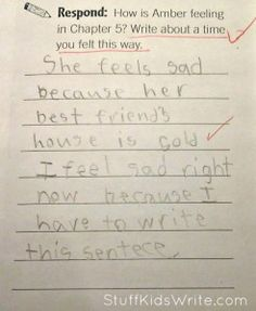 I'm sure happy that this ~5yo kid does what it took 11 years of public school for me to get the nerve and cynicism to do.