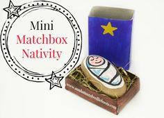 Mini Matchbox Nativity