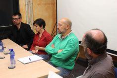 04-12-2015 II Semana Ilustrada-Mesa redonda con Pablo Amargo, Ana Lartitegui y Juanjo Moreno