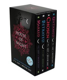 House of Night Set : Marked, Betrayed, Chosen, Untamed [With Poster] by P. C. Cast; Kristin Cast (Paperback): Booksamillion.com: Books