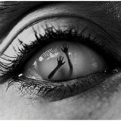 Got something in my eye.