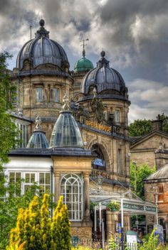 England Travel Inspiration - Opera-house, Buxton, Derbyshire, UK