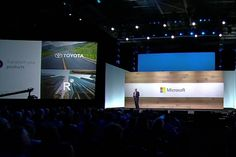 Peggy Johnson, Microsoft Executive Vice President , Business Development, announced the partnership with R3 consortium