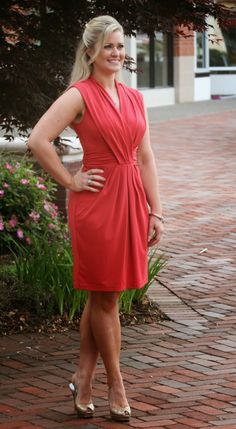The Perfect Coral Dress and a Giveaway!