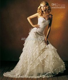 sexy  country wedding dress   New-Wedding-Dress-sexy-long-sleeve-western-wedding-dresses-for-bride ...