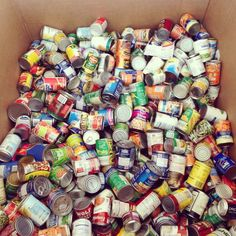 Food Drive - Initiative offices nationwide collect goods for local food banks. Progress is shared on Yammer. Food Drive, Food Bank, Giving Back, Solid Gold, Indie, Thanksgiving, Stamp, Offices, Banks