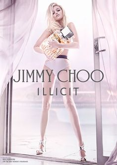Sky Ferreira for the Jimmy Choo Illicit Fragrance campaign by Steven Klein