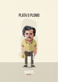 Plata o plomo on Behance by Ricardo Polo. Pablo Emilio Escobar, Don Pablo Escobar, Pablo Escobar Quotes, Pulp Fiction, Narcos Wallpaper, Narcos Poster, Series Movies, Tv Series, Narcos Pablo