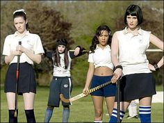 Modern remake of the 1954 film, St. Trinian's