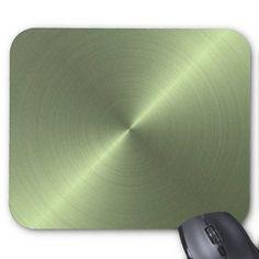 Metallic Green Mousepad