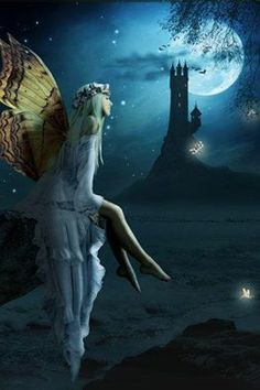 Ahhh, the Fairy and her Man in the Moon