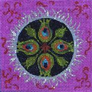Colors of Praise Needlepoint design