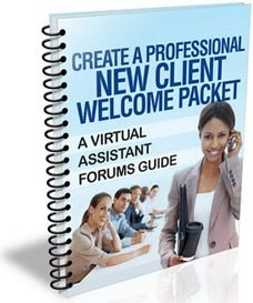 Create a Professional Client Welcome Packet for Your Virtual Assistant Business - The Work at Home Wife