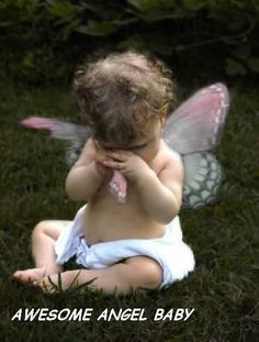 Awesome angel baby