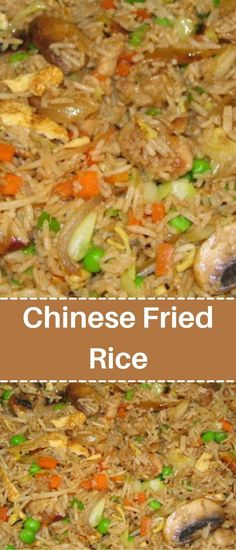Homemade Chinese Food, Easy Chinese Recipes, Rice Side Dishes, Vegetable Side Dishes, Fried Rice Recipe Chinese, Beef Fried Rice, Side Dish Recipes, Dinner Recipes, Chicken Recipes