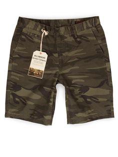 Williamsburg Garment Company, Inc - Camouflage Chino Short pants, $109.00