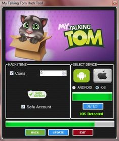 Today we introduce you an astonishing hack instrument for the My Talking Tom game.With My Talking Tom Hack Tool you can include for nothing boundless coins. My Talking Tom Hack This trick instrumen… Talking Tom 2, Real Hack, Android I, Ios, Game Resources, Game Update, Test Card, Hack Online, Hack Tool