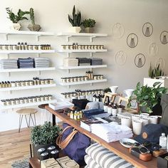 Shop love: a scene from our stockist in Chicago @gatherhomelifestyle. Can you spy Trouvé?#creativityfound #trouvestockist