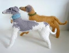 Image result for knitted dogs