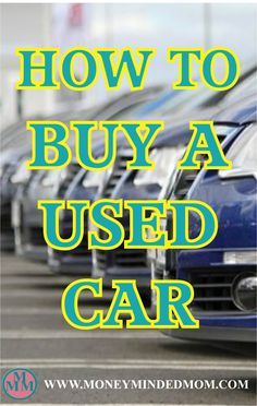 Everything you need to know when buying a used car. Buying a used or brand new vehicle is a big decision to make. Not typically cheap, it is probably the next most valuable asset for many, following the home.