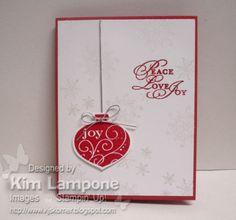 Delightfully Festive by KimberlyJoy - Cards and Paper Crafts at Splitcoaststampers