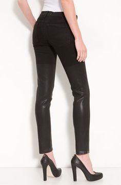 J Brand Half Coated Skinny Denim Leggings