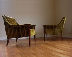 Pair of Mid Century Chairs Vintage 1950s McCobb by JBHoffman, $1150.00