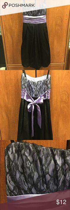 Size 5 Purple Dress Size 5 Purple Dress. Worn once. Perfect condition. Dresses