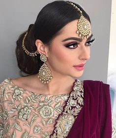 Pakistani Jewelry, Pakistani Outfits, Indian Outfits, Indian Jewelry, Pakistani Clothing, Indian Clothes, Marriage Suits, Indian Culture And Tradition, Middle Eastern Fashion
