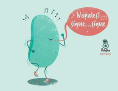 NO PALES sígue; sígue (it helps to know that nopales= prickly pear. And the song Tiburon by Proyecto Uno.
