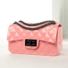Diamond Pattern Jelly Bag (9 Colors)