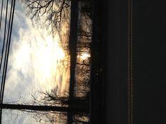 Sunset over Lake Singletary,Sutton Mass