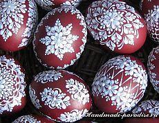 Шаблоны для росписи пасхальных яиц воском - Handmade-Paradise