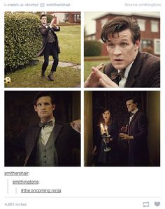 "When they discovered Eleven's side hobby. | 21 Tumblr Posts That Prove ""Doctor Who"" Has The Best Fans"