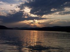 Susquehanna River ~ perfect evening skiing water!