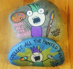 collect all the painted rocks Pebble Painting, Love Painting, Pebble Art, Rock Walkway, Painted Rocks Kids, Painted Pebbles, Painted Stones, Inspirational Rocks, Rock Crafts