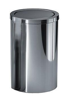 36 best trash cans images polished chrome canning home canning rh pinterest com