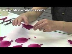 How To Make Nylon Flowers 02 (Large Rose) blisswonders.com ✄ http://www.youtube.com/watch?v=JeY1-pwUU3M