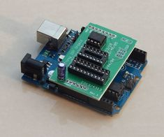 ATtiny ISP Shield makes programming AVR ATtiny bare Chips easy and simple and also helps shrink your arduino projects.ATtiny ISP Shield is a programming tool used to program bare for8 Pin IC's like ATtiny13, ATtiny15 ,ATtiny25, ATtiny45, ATtiny85. 14 Pin IC's like ATtiny24, ATtiny44, ATtiny84. 20 Pin IC's like ATtiny2313, ATtiny4313. 28 pin IC's like ATMega8, Atmega128, Atmega328 using ISP header. Here is the page for more information for the usage of t...