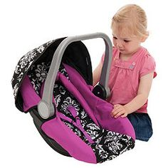 Buy Mamas Papas Dolls Car Seat Damask