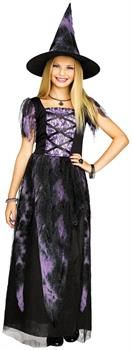 Starlight Witch Child Costume Witches don't have to be old and mean. Look simply magical in this Starlight Witch Child Costume. Includes gown and hat. Group Halloween Costumes, Girl Costumes, Halloween Kids, Costume Ideas, Halloween Couples, Trendy Halloween, Costumes Kids, Halloween Season, Halloween Outfits