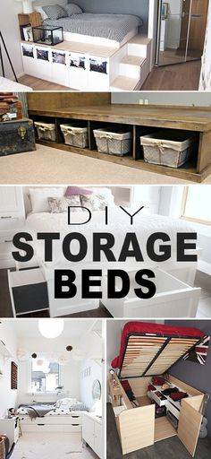 DIY Storage Beds • G