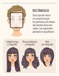 Rectangle face shape DO\'s | Projects | Pinterest | Rectangle face ...