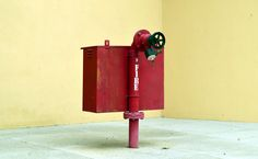 Bright Red Fire Hydrant by Shreeharsh Ambli on 500px